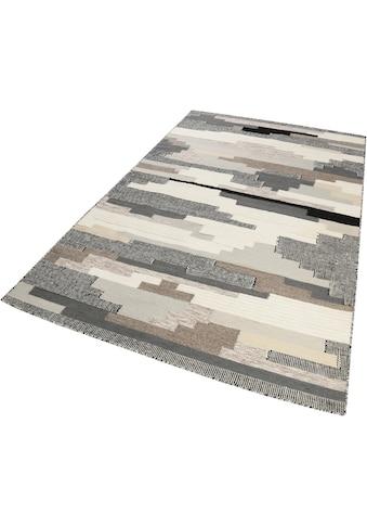 Esprit Wollteppich »Natham Kelim«, rechteckig, 8 mm Höhe, reine Wolle, Wohnzimmer kaufen