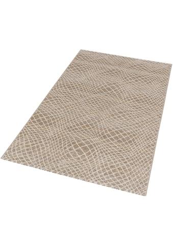 ASTRA Teppich »Carpi Gitter«, rechteckig, 15 mm Höhe, Wunschmass, Wohnzimmer kaufen