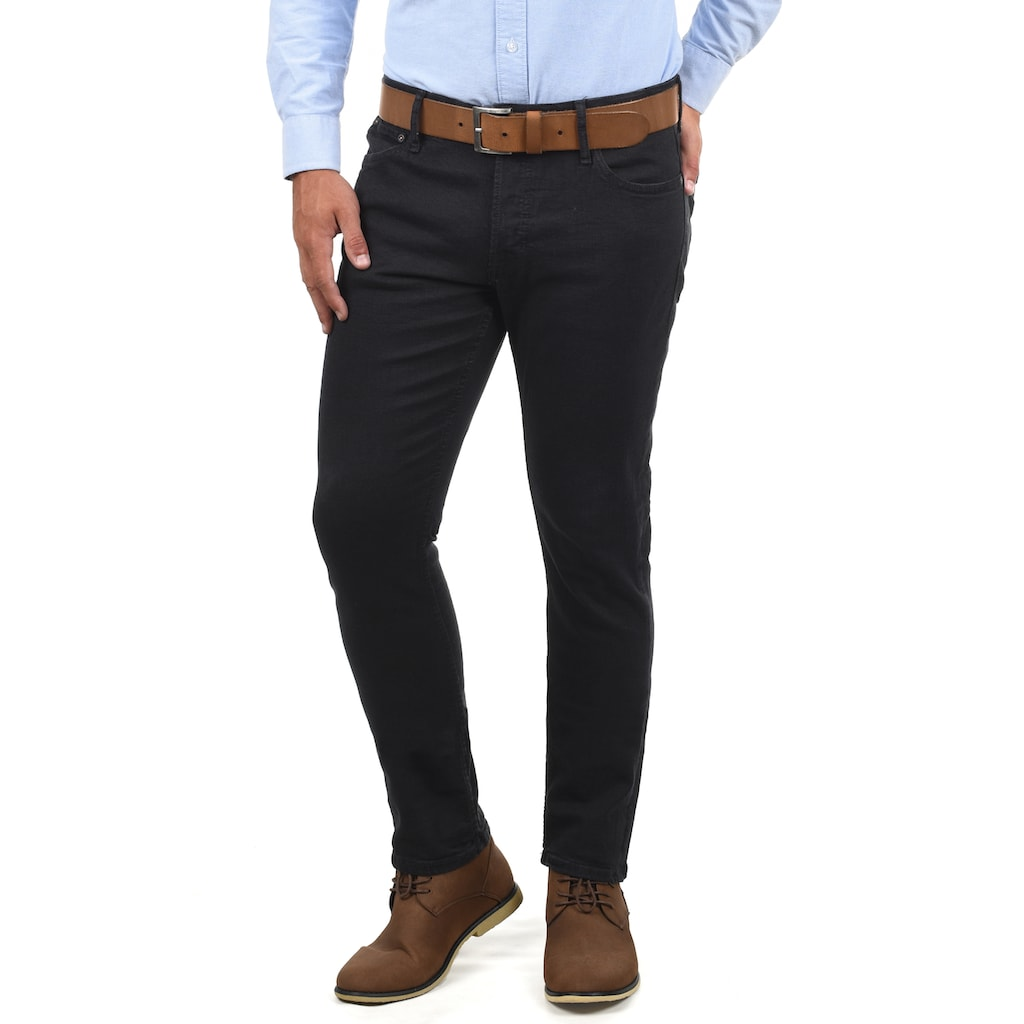 Jack & Jones 5-Pocket-Jeans »Ubbo«, Denim Hose mit leichten Used-Effekten