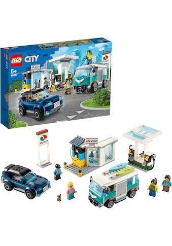 "LEGO® Konstruktionsspielsteine ""Tankstelle (60257), LEGO® City Nitro Wheels"", Kunststoff, (354 - tlg.) acheter"