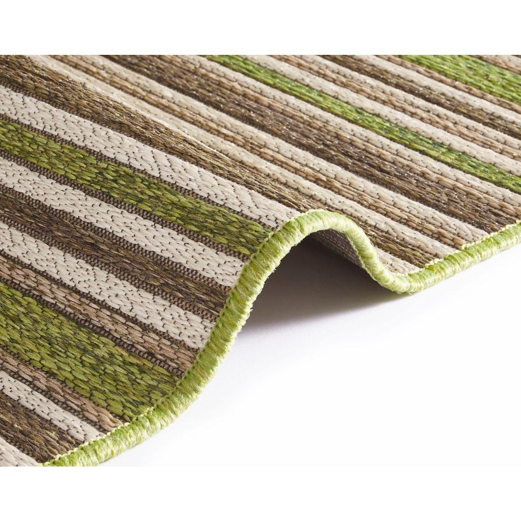 bougari Teppich »Bamboo«, rechteckig, 7 mm Höhe, In- und Outdoor geeignet, Wohnzimmer