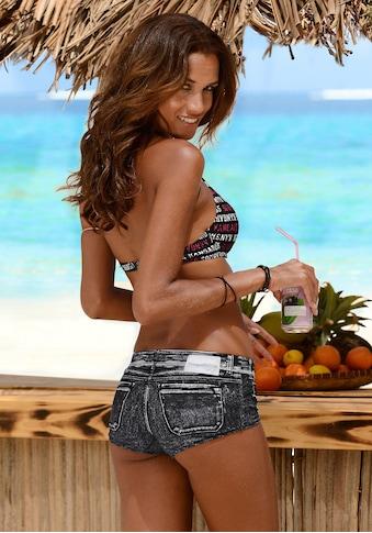 KangaROOS Bikini-Hotpants »Patty«, in angesagter Jeans-Optik kaufen