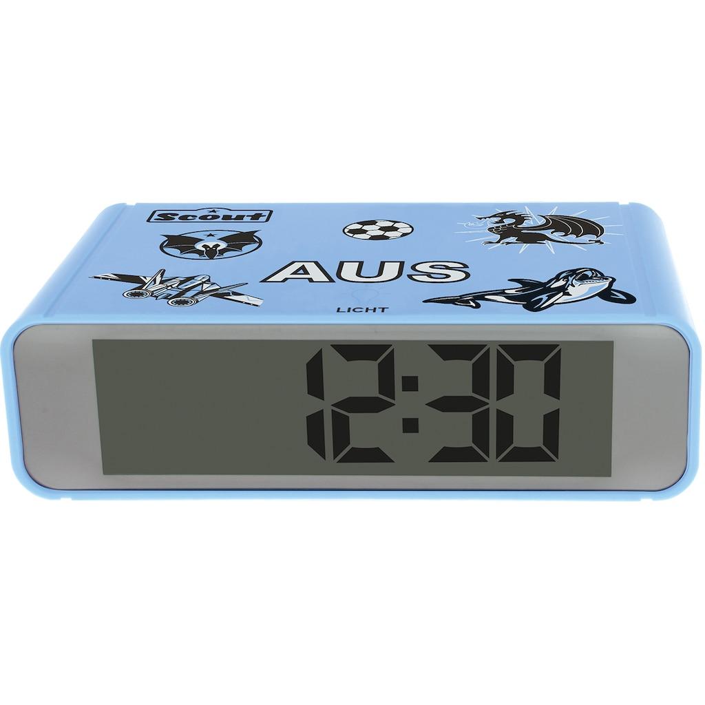 Scout Quarzwecker »Digi Clock, 280001026«