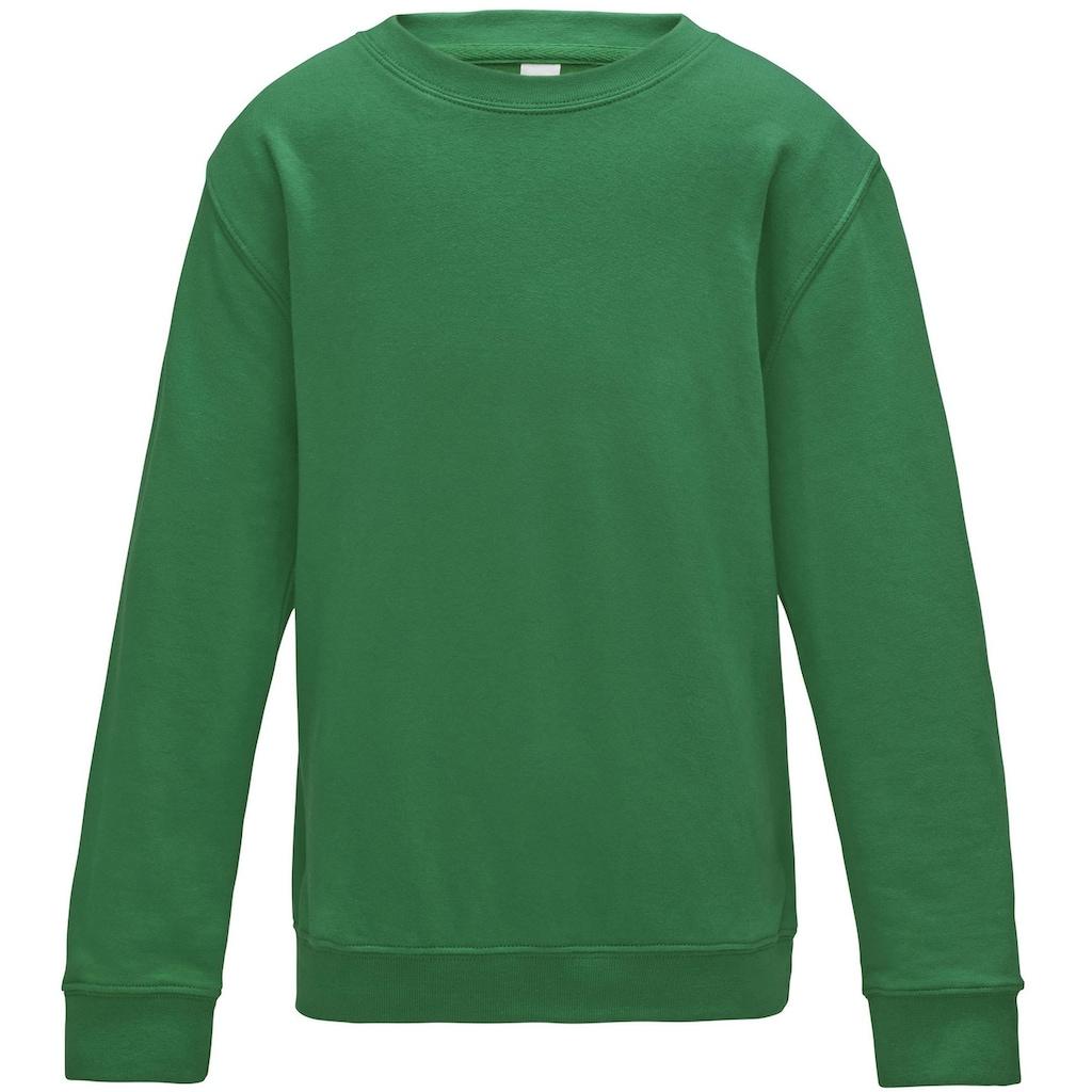 AWDIS Rundhalspullover »Just Hoods Kinder Pullover / Sweatshirt, unifarben«