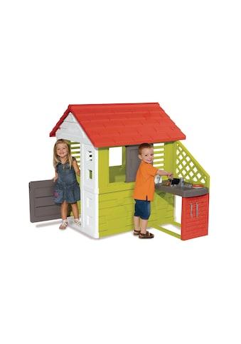 Smoby Spielhaus »Natur mit Sommerküche« kaufen