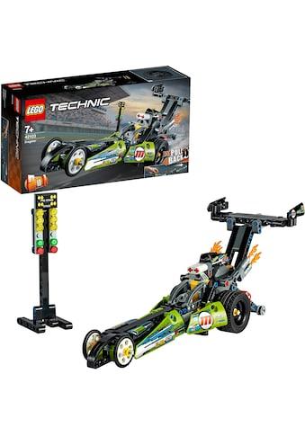 """LEGO® Konstruktionsspielsteine """"Dragster Rennauto (42103), LEGO® Technic"""", Kunststoff, (225 - tlg.) kaufen"""