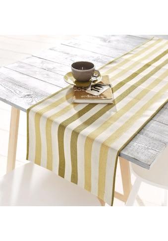 Tischläufer, »Streifen«, HOSSNER  -  HOMECOLLECTION (1 - tlg.) acheter