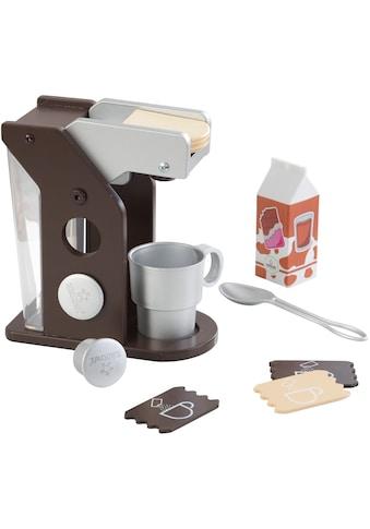 KidKraft® Kinder-Kaffeemaschine »Spielset Kaffee, Espresso«, (10 tlg.), mit Tasse und Zubehör kaufen