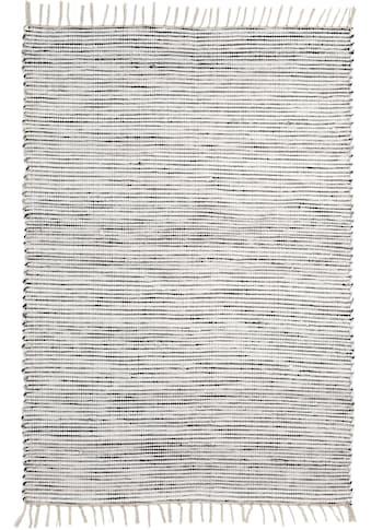 Andiamo Teppich »Milo 1«, rechteckig, 5 mm Höhe, Flachgewebe, reine Baumwolle,... kaufen