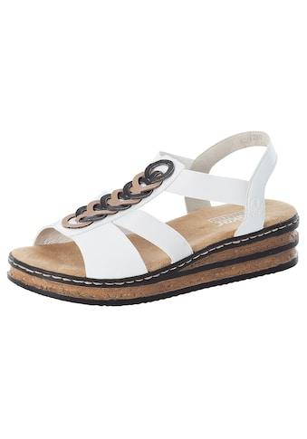 Rieker Sandalette, mit weich gepolsterter Innensohle kaufen
