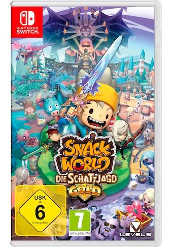 Snack World: Die Schatzjagd  -  Goldfarben Nintendo Switch kaufen