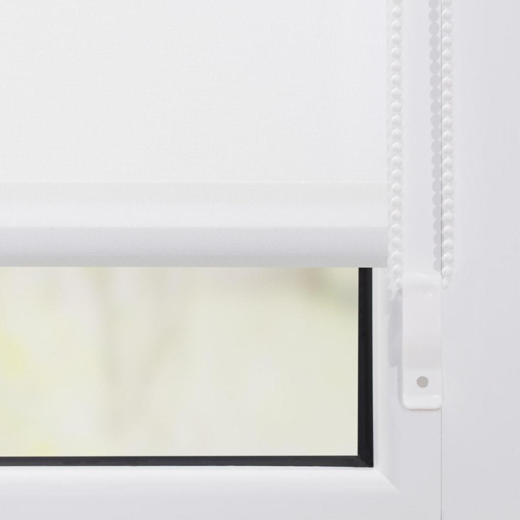 LICHTBLICK Seitenzugrollo »Klemmfix Motiv Kirschblüten«, Lichtschutz, ohne Bohren, freihängend, bedruckt
