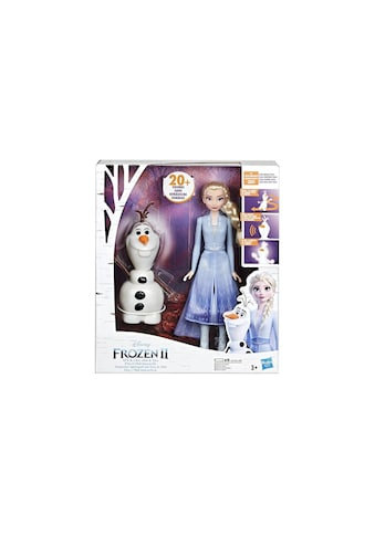 Puppe, Hasbro, »Frozen II Elsa mit Olaf« kaufen