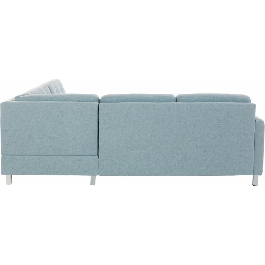 sit&more Ecksofa, wahlweise mit Bettfunktion und Bettkasten