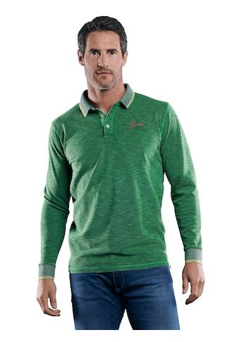 Engbers Poloshirt in Flammgarnoptik kaufen