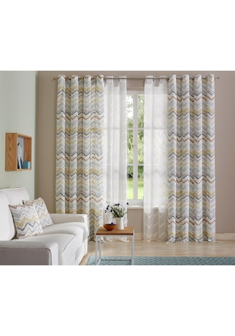 Vorhang, »Thala«, andas, Ösen 1 Stück kaufen