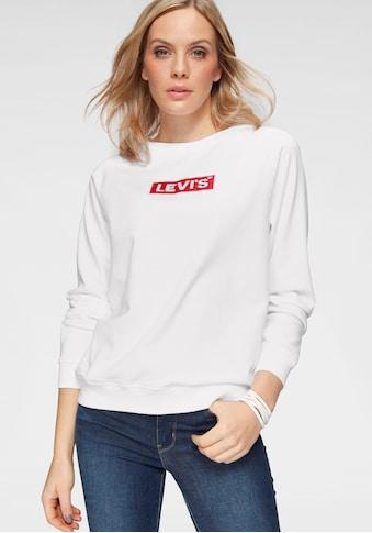 Levi's® Sweatshirt »Relaxed Graphic Crew«, mit Logo auf der Brust kaufen