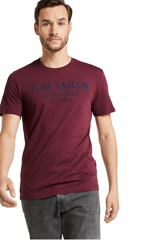 TOM TAILOR Rundhalsshirt kaufen
