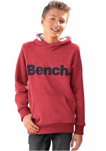 Bench. Kapuzensweatshirt »mit Kapuzenfutter in Kontrastfarbe« kaufen
