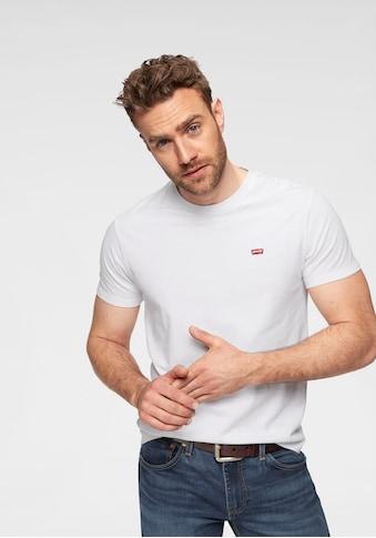 Levi's® T-Shirt, mit Batwing-Logo-Badge kaufen