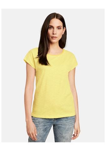 Taifun T - Shirt Kurzarm Rundhals »1/2 Arm Shirt aus organic cotton« kaufen