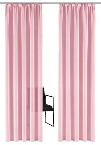 Gardine, »TENDER«, Guido Maria Kretschmer Home&Living, Kräuselband 1 Stück kaufen