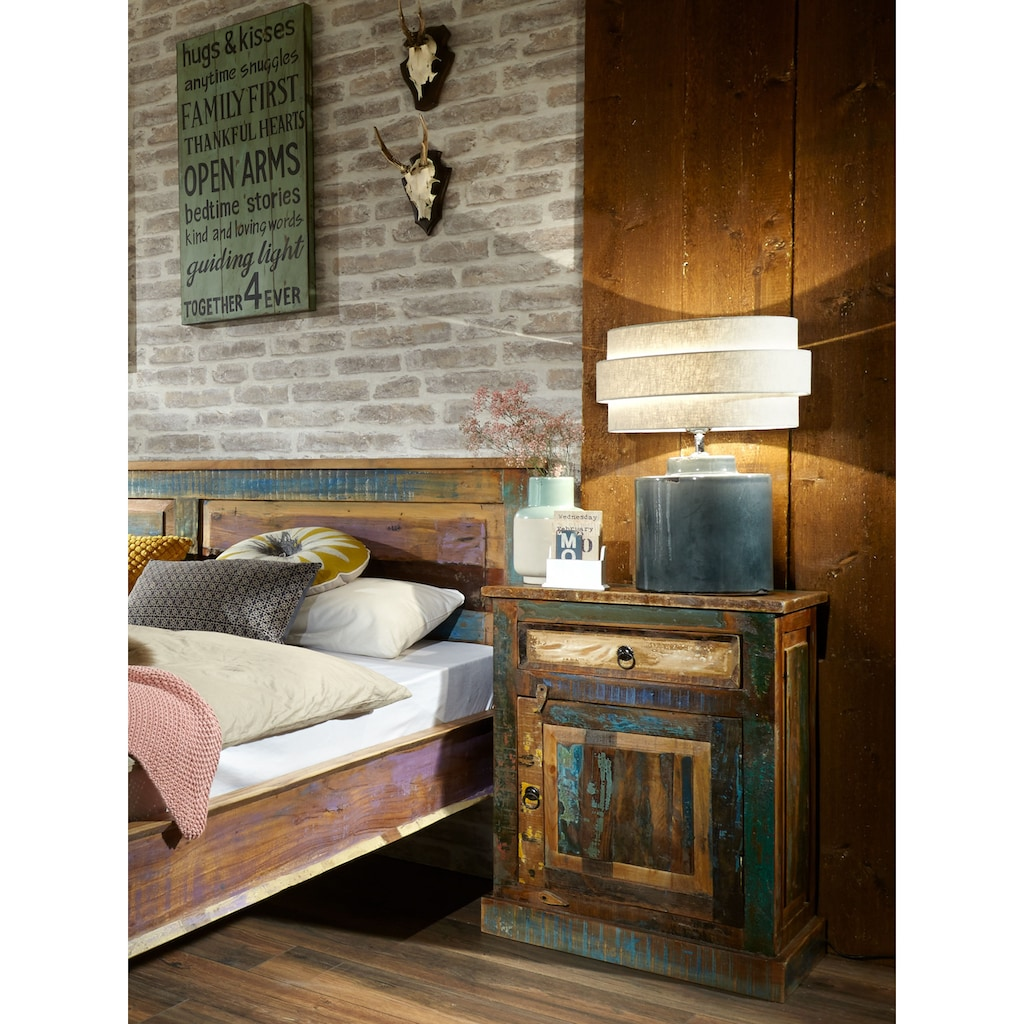 SIT Kommode »Riverboat«, aus recyceltem Altholz, Shabby Chic, Vintage
