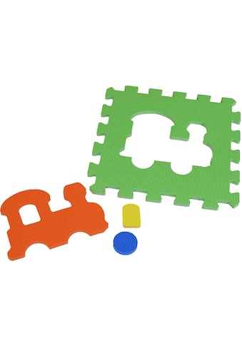Knorrtoys® Puzzle »Fahrzeuge«, (10 tlg.), Puzzlematte, Bodenpuzzle kaufen
