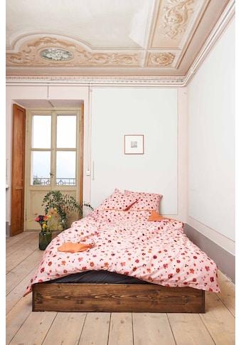 Journey Living Bettbezug »Sosto, Satin Double-Face«, (1 St.), verdeckter Reissverschluss kaufen