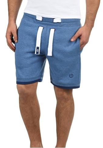 Solid Sweatshorts »BenjaminShorts«, kurze Hose mit Kontrastkordeln kaufen