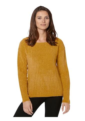 Ambria Pullover aus weichem Chenille - Garn kaufen