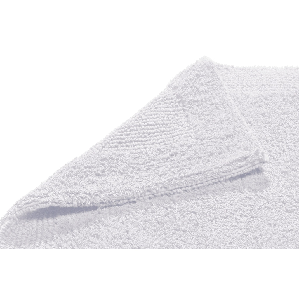 Home affaire Badematte »Kapra«, Höhe 10 mm, beidseitig nutzbar, Bio Baumwolle