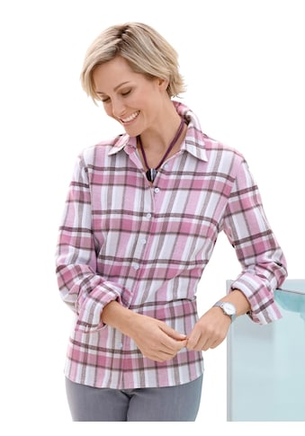 Casual Looks Bluse mit kariertem Muster kaufen