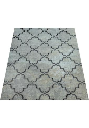 Paco Home Teppich »Artigo 411«, rechteckig, 4 mm Höhe, In- und Outdoor geeignet, Vintage Design, Wohnzimmer kaufen