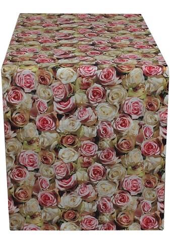 Tischläufer, »32452 Roses«, HOSSNER  -  HOMECOLLECTION (1 - tlg.) acheter