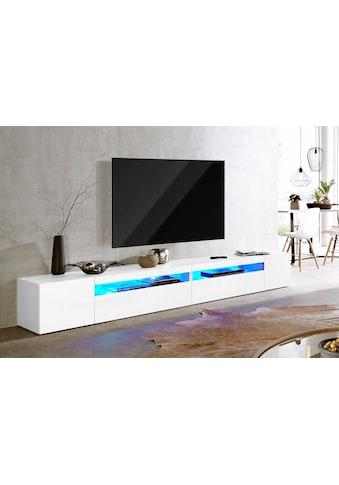 Tecnos Lowboard, Breite 260 cm, ohne Beleuchtung kaufen