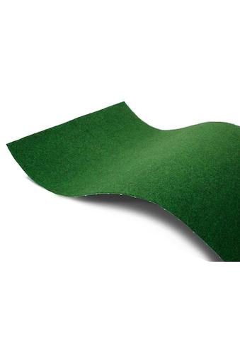 Primaflor-Ideen in Textil Teppich »COMFORT«, rechteckig, 5 mm Höhe, Rasenteppich, Farbe grün, In- und Outdoor geeignet, Wohnzimmer kaufen