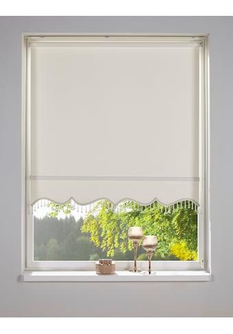 DELAVITA Rollo »Sander«, Lichtschutz, Sichtschutz, mit Bohren, freihängend, mit... kaufen