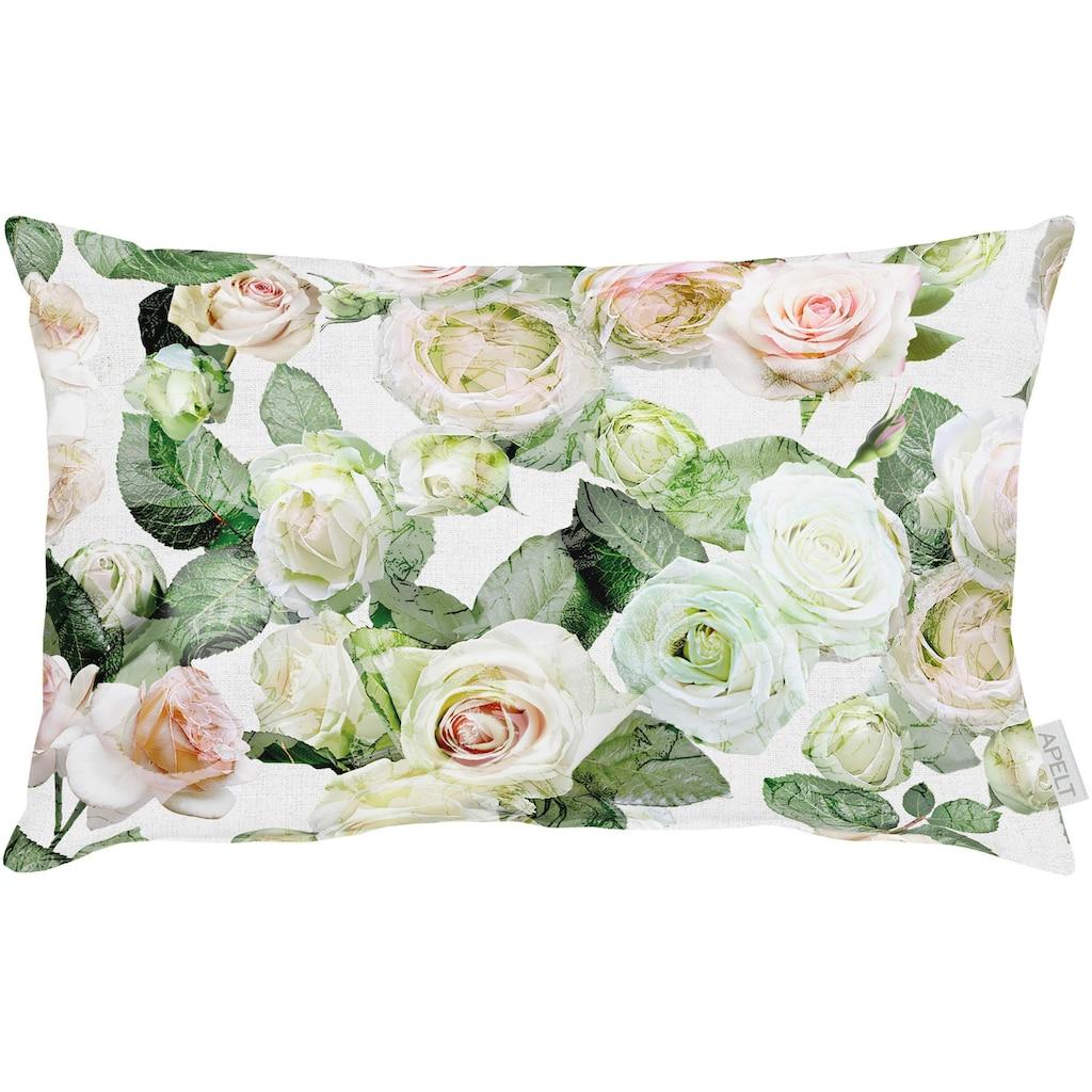 APELT Kissenbezug »Charlotte«, (1 St.), mit tollen Rosen