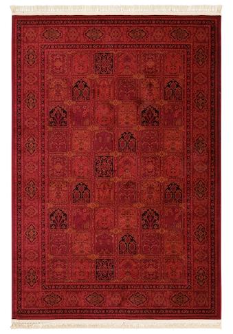 DELAVITA Teppich »Tiara«, rechteckig, 10 mm Höhe, Mit Fransen, Wohnzimmer kaufen