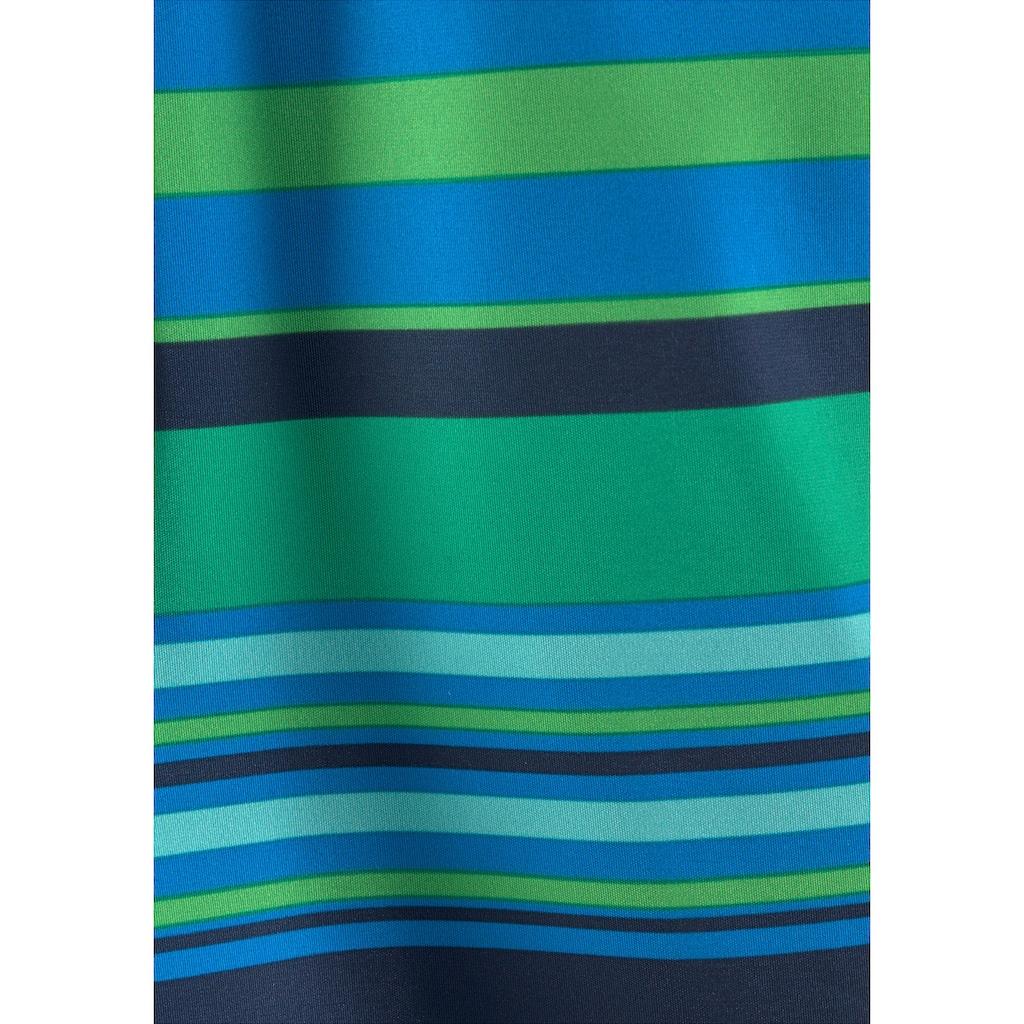 Bench. Badeshorts, mit kontrastfarbenen Streifen
