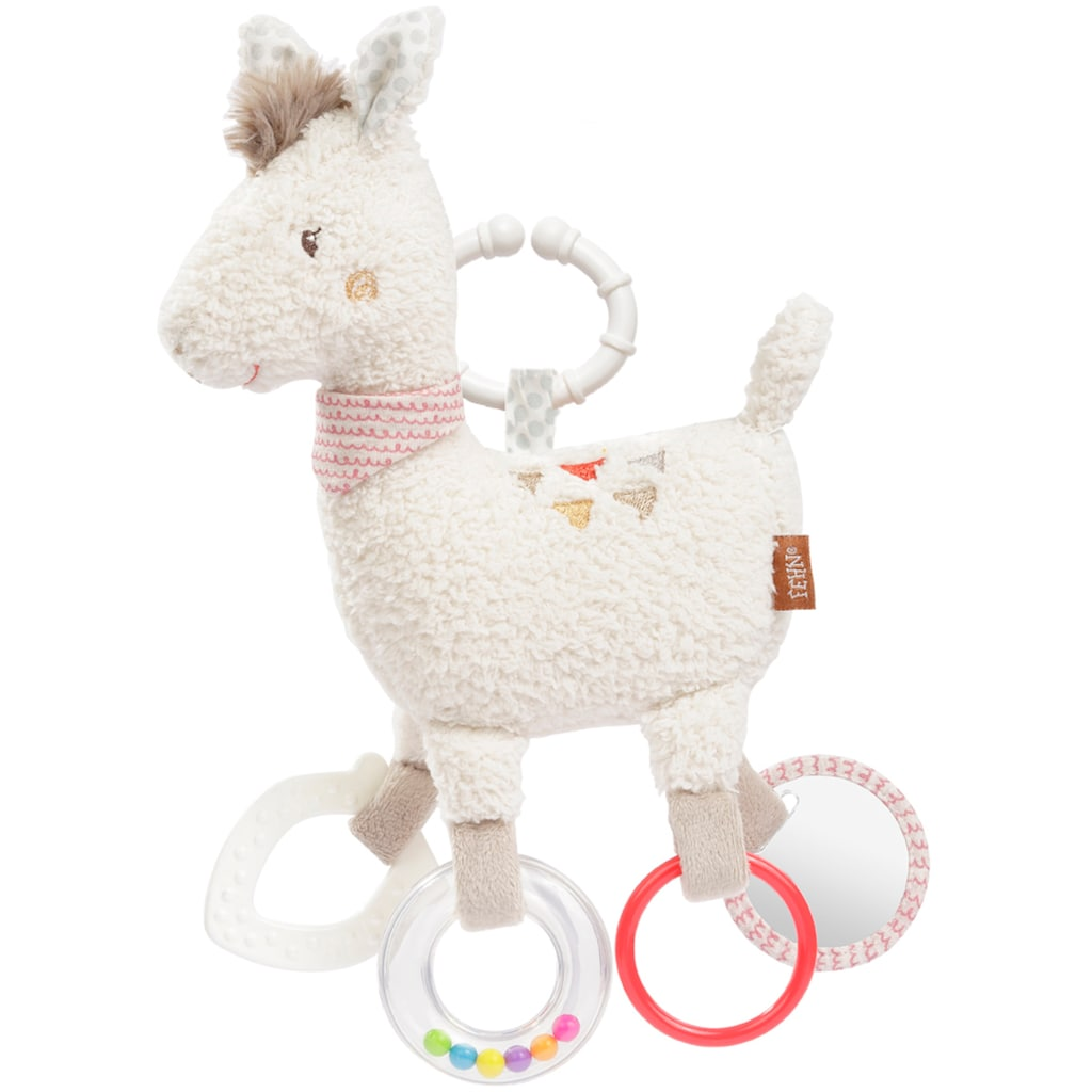 Fehn Greifspielzeug »Peru Activity-Lama«, mit Ring