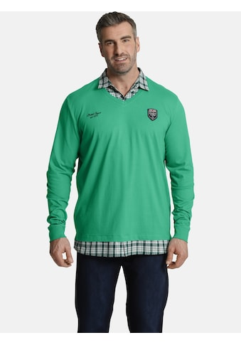 Charles Colby Sweatshirt »EARL FARIN«, Sweatshirt mit Hemdkragen kaufen