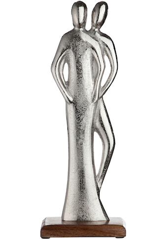 GILDE Dekofigur »Skulptur Figura Miteinander«, Dekoobjekt, Höhe 41 cm, aus Metall,... kaufen