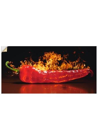 Artland Wandbild »Roter scharfer Chilipfeffer« kaufen