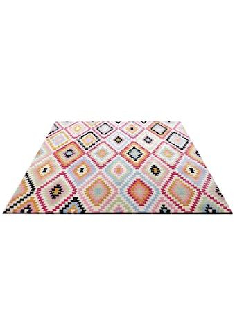 Wecon home Teppich »Fresh Kelim«, rechteckig, 8,5 mm Höhe, Wohnzimmer kaufen