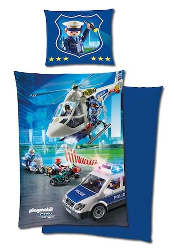 Renforcé - Bettwäsche »Playmobil Polizei« kaufen