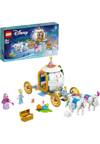 LEGO® Konstruktionsspielsteine »Cinderellas königliche Kutsche (43192), LEGO® Disney... kaufen