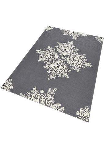 HANSE Home Teppich »Blossom«, rechteckig, 9 mm Höhe, Kurzflor, ringsum gekettelt, Wohnzimmer kaufen