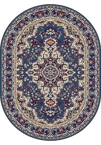 DELAVITA Teppich »Oriental«, oval, 7 mm Höhe, Orient-Optik, Wohnzimmer kaufen